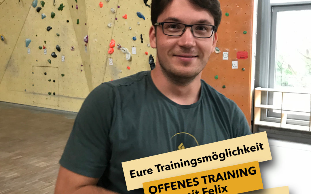 Fit aus dem Lockdown – offenes Training mit Felix  jeden Montag von 18:00-20:00 Uhr